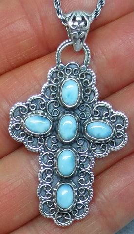 Larimar Necklaces