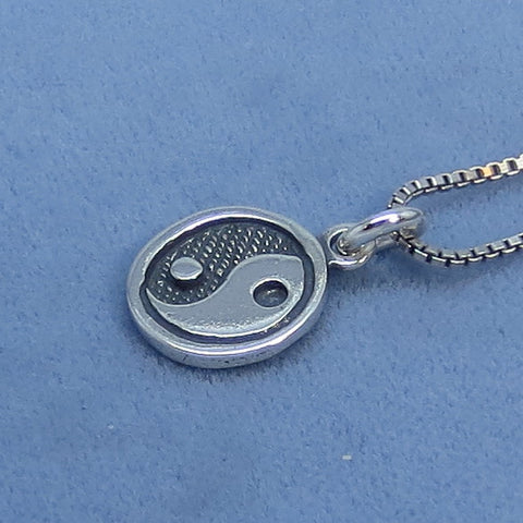Yin Yang Necklace Sterling Silver - 200404