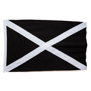 Made in Scotland Saltire Black