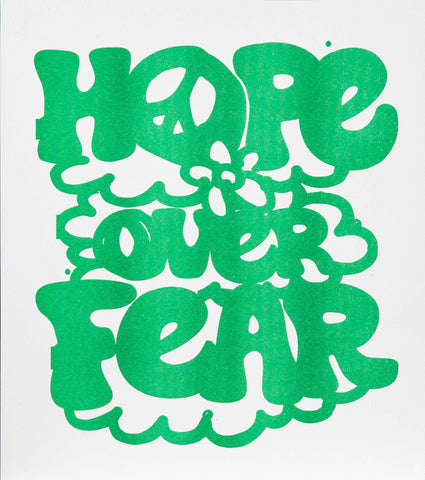 Hope Over Fear - poster