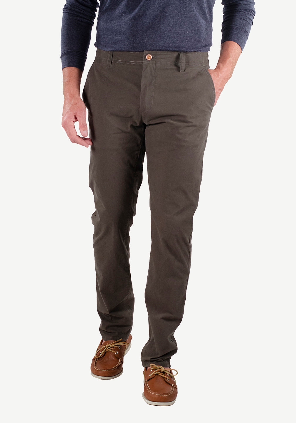 Airotec® Performance Stretch Chino (Forest Night)