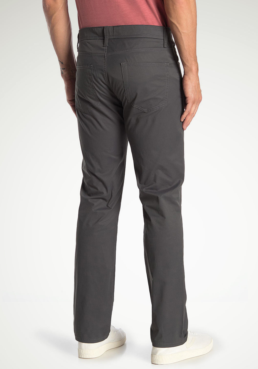 Back View Front View AIROTEC® PERFORMANCE 5-POCKET PANTS - WESTPORT ATHLETIC STRAIGHT FIT in Dark Shadow