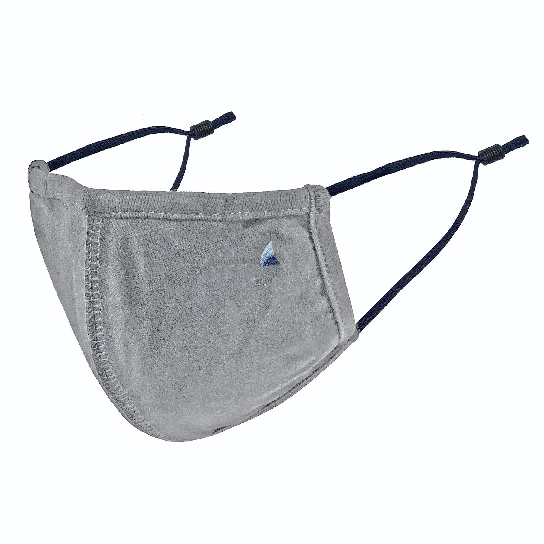 PURETEC COOL™ NANOFIBER FILTER MASK in GRAY FLANNEL