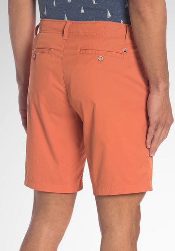 "PERFORMANCE COMFORT WAISTBAND WALKING SHORT -9 "" INSEAM (BURNT SIENNA)"