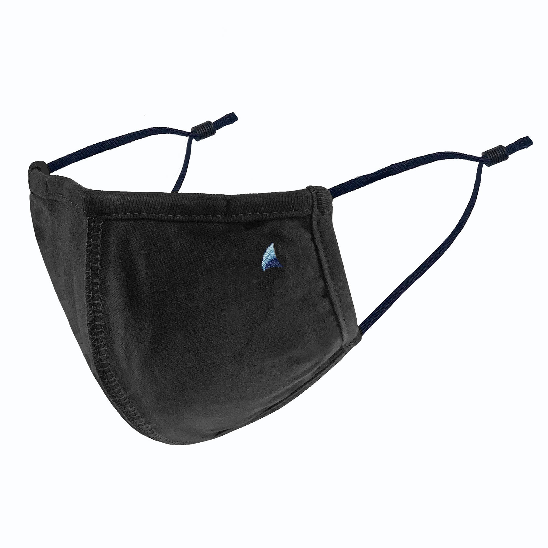 PURETEC COOL™ NANOFIBER FILTER MASK in BLACK