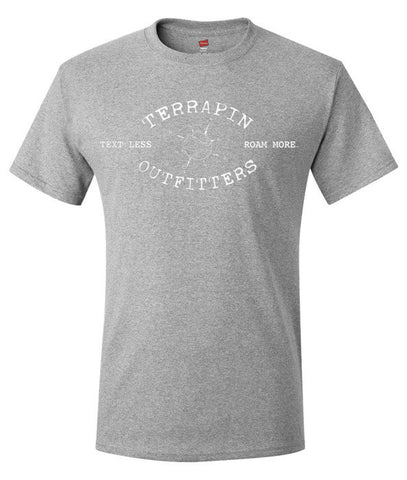 Men's Varsity Logo Tee - Light Steel Gray