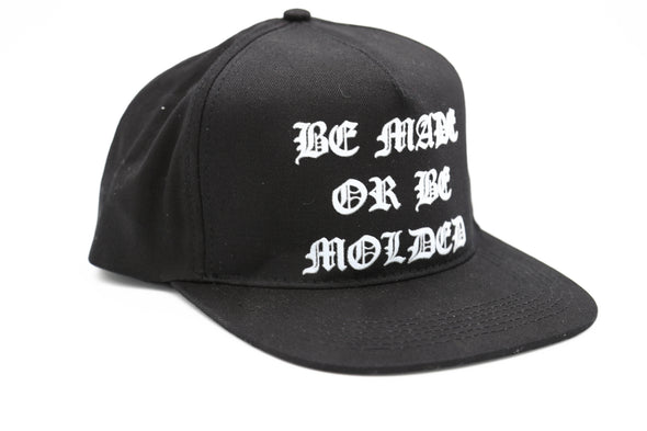 "SLFMD Old English ""Be Made Or Be Molded"" Snapback"