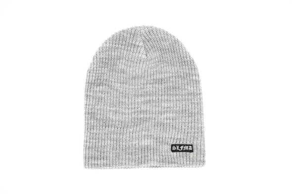 SLFMD Beanie Small Logo - Heather Gray