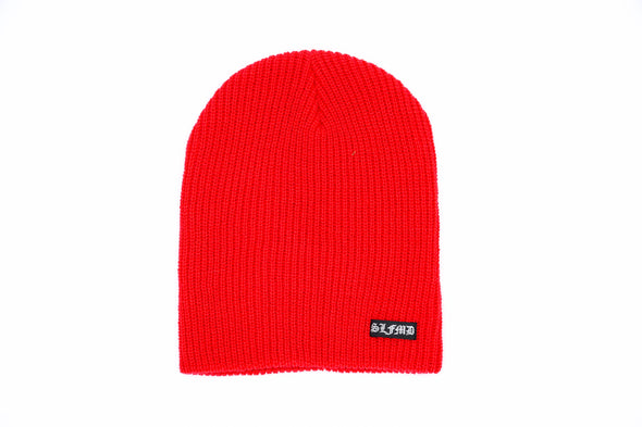 SLFMD Beanie Small Logo - Red
