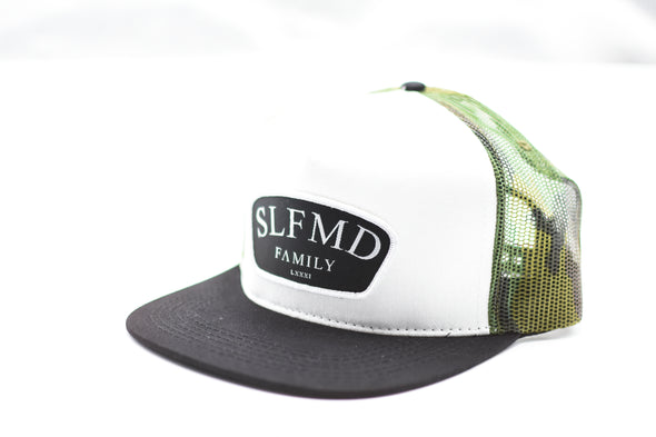 SLFMD Camo Patch Trucker SnapBack