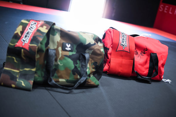 SLFMD Duffle Bag - Red