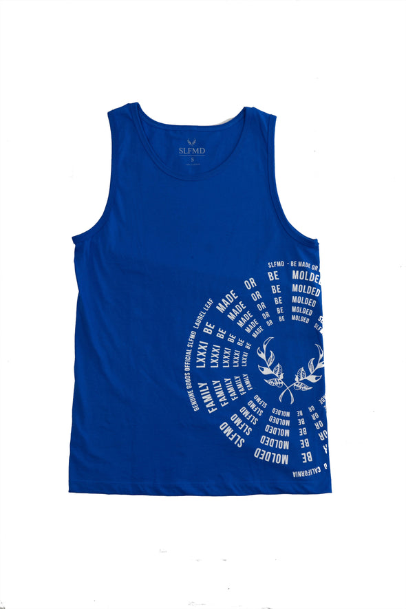 SLFMD Men's Royal Blue Tank