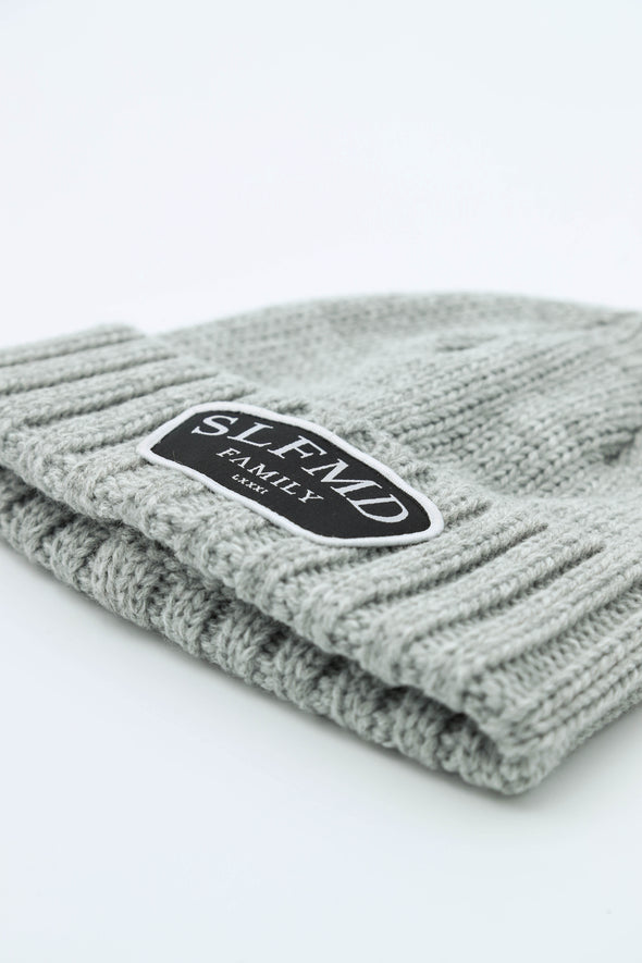 SLFMD Stamped Logo Beanie - Gray