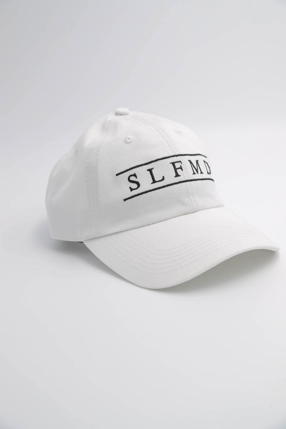 SLFMD Dad Hat - Simple White