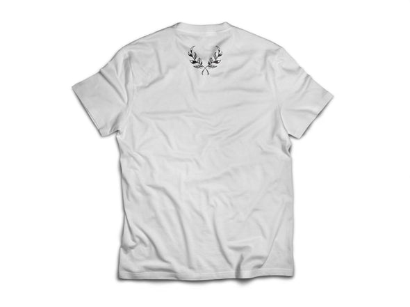 SLFMD White Wreath Tee