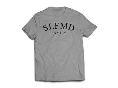 SLFMD Heather Gray Wreath Tee