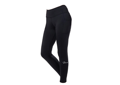 Black High Waisted Legging with Pocket