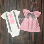 Baby Boy & Baby Girl Twin Outfits
