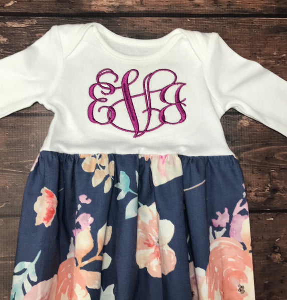 848cdcbb0 Girls Personalized Layette Gown – Just Simple Kindness