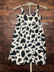 Ready to Ship - Cow Dress - Girls 4