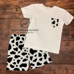 Boys Cow Print Outfit
