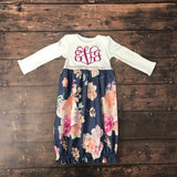 Girls Personalized Layette Gown