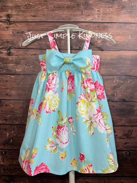 Rosie Posie Bow Dress