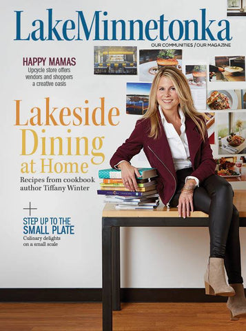 Tiffany Winter on the Cover of Lake Minnetonka Magazine