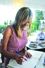 Tiffany Winter signs Lake Minnetonka Eats books