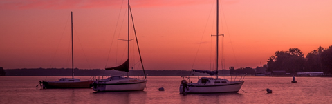 Sailboats on Lake Minnetonka by Al Whitaker