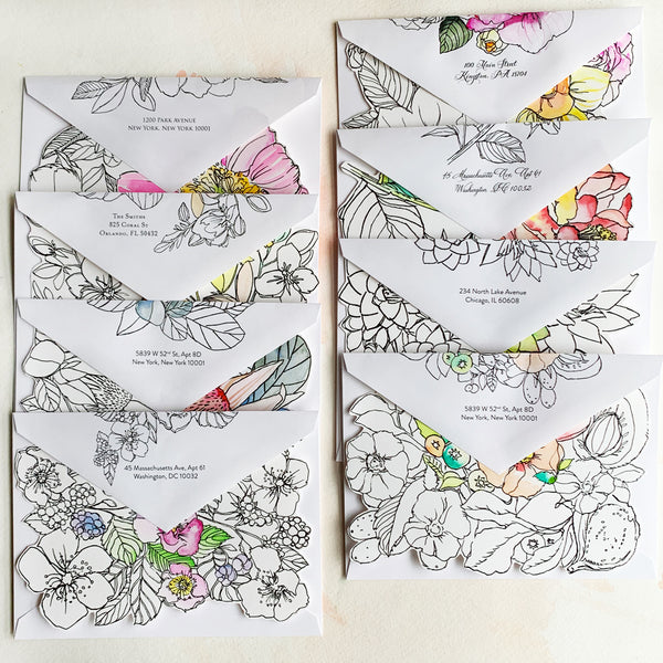 #watercolorkiss Notecard Set