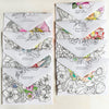 #watercolorkiss Notecards - SELF MAIL OPTION
