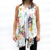 Watercolor Scarf - Fruits & Blooms