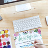 #artforjoysake One on One - Hourly Watercolor Lesson with Kristy Rice