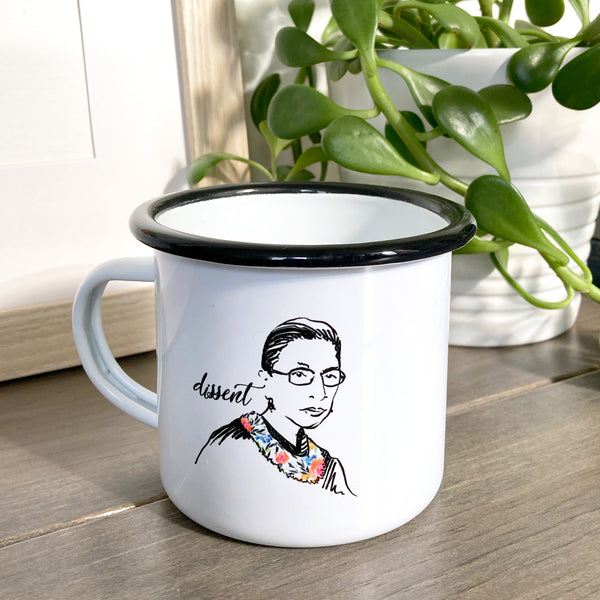 Pillars Collection - Ruth Bader Ginsburg Coffee Mug