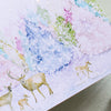 Holiday Boxed Card Set - Watercolor Forest