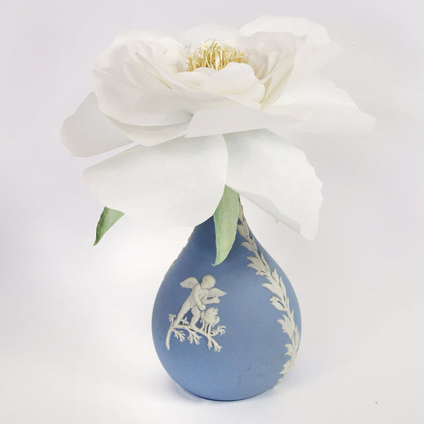 Hand Sculpted Paper Flower - Peony