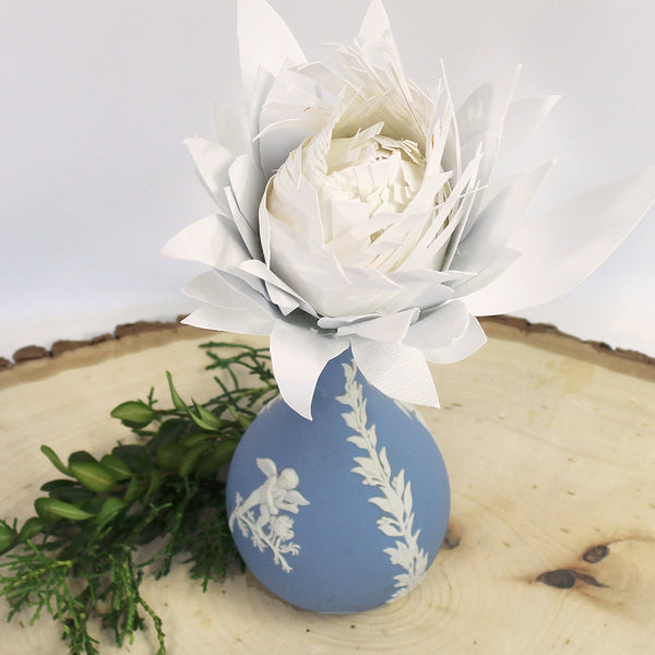 Hand Sculpted Paper Flower - Protea