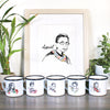 Pillars Collection - Ruth Bader Ginsburg Watercolor Art Print