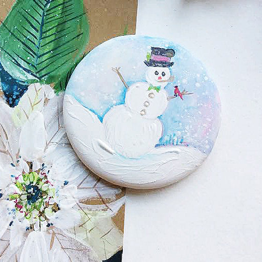 Hand Painted Ornaments - Snowman
