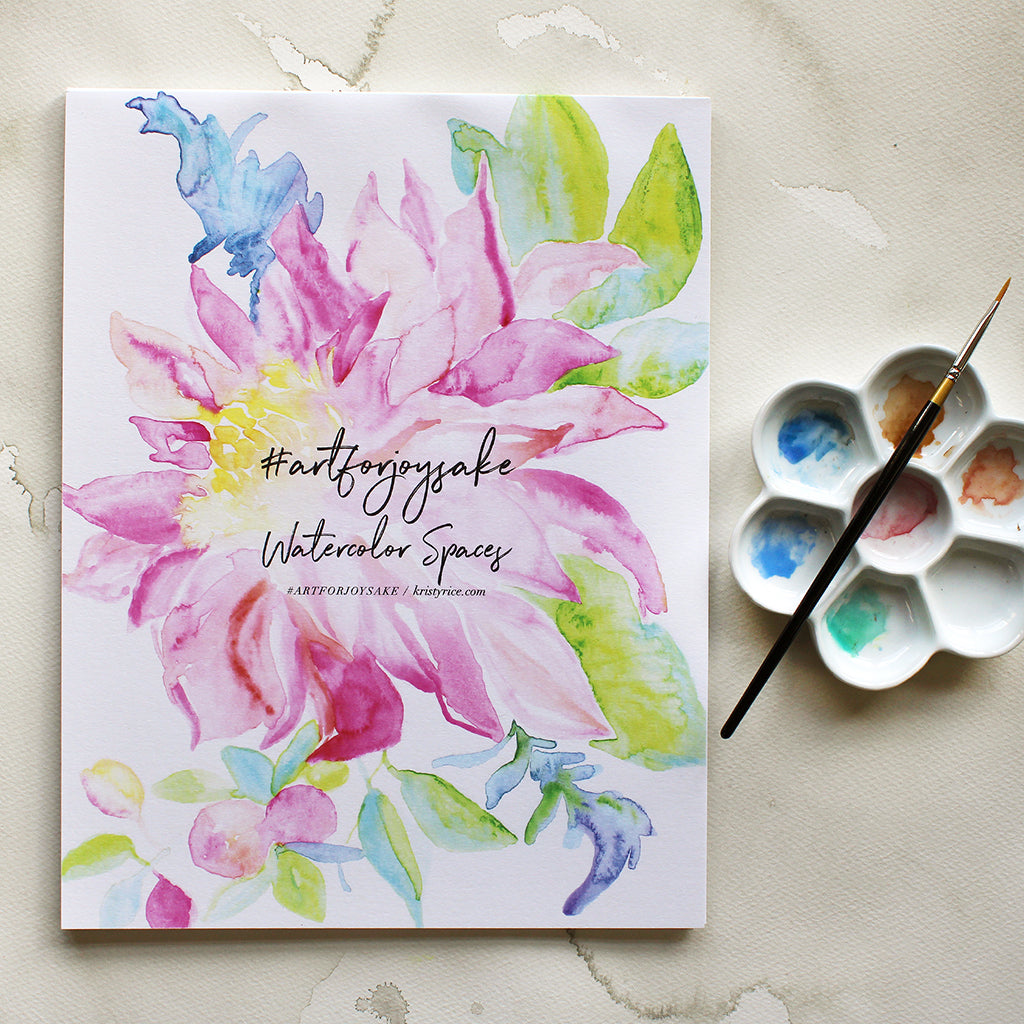 Bloom Watercolor Spaces - Watercolor Notebook