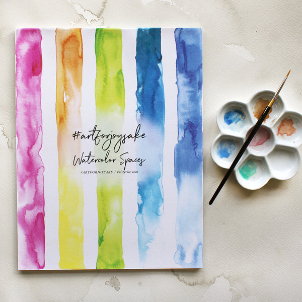Columns Watercolor Spaces - Watercolor Notebook