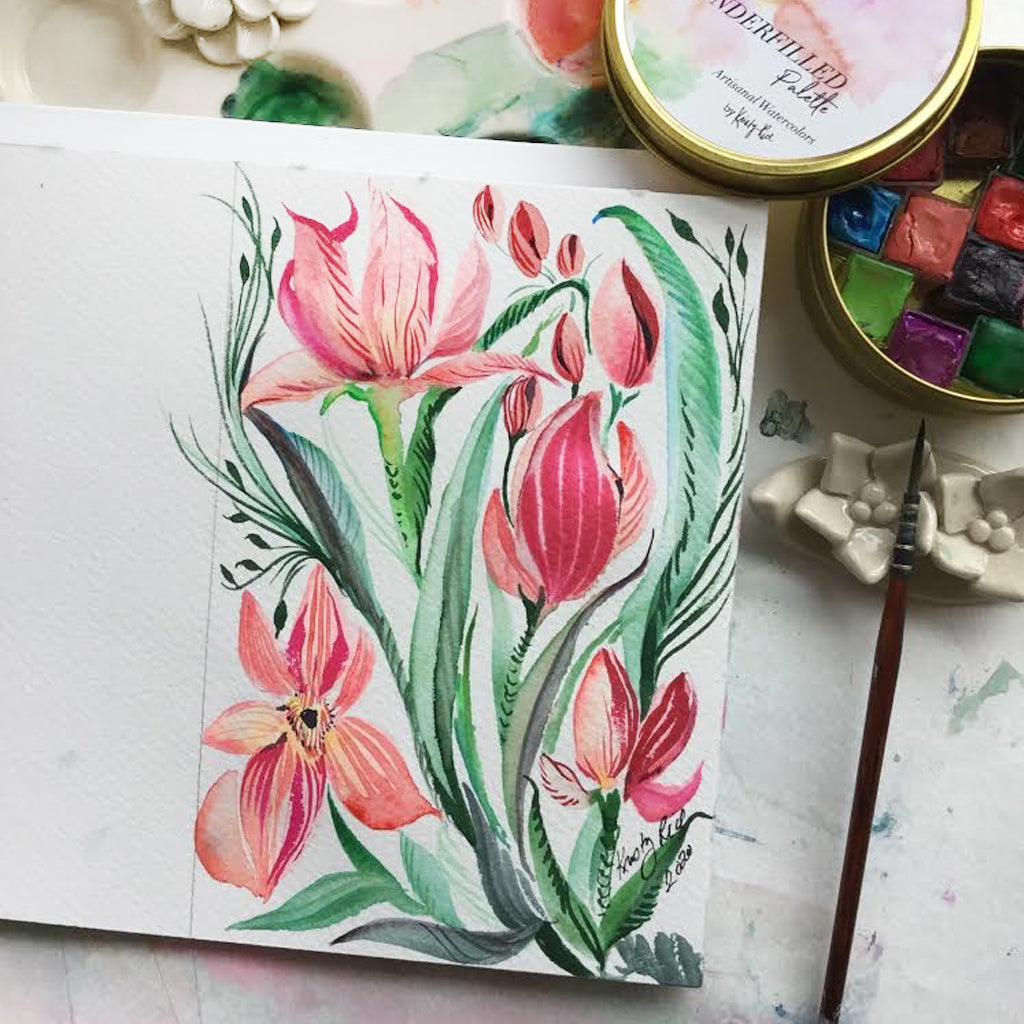 Original Watercolor - Spring Forward
