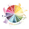 #artforjoysake Color Wheel T-Shirt