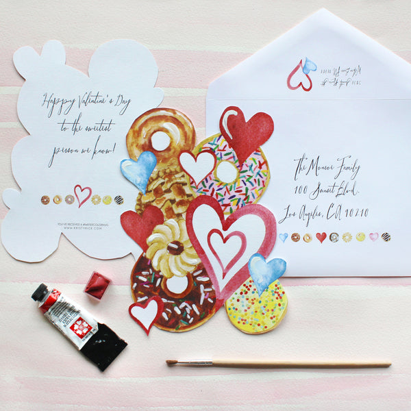 #watercolorhug Valentine Bundle - Drop Ship Option