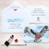 #watercolorhug Valentine Bundle - Self Mail Option