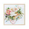 You Place the Flowers in the Vase - Watercolor Fragments Art Print