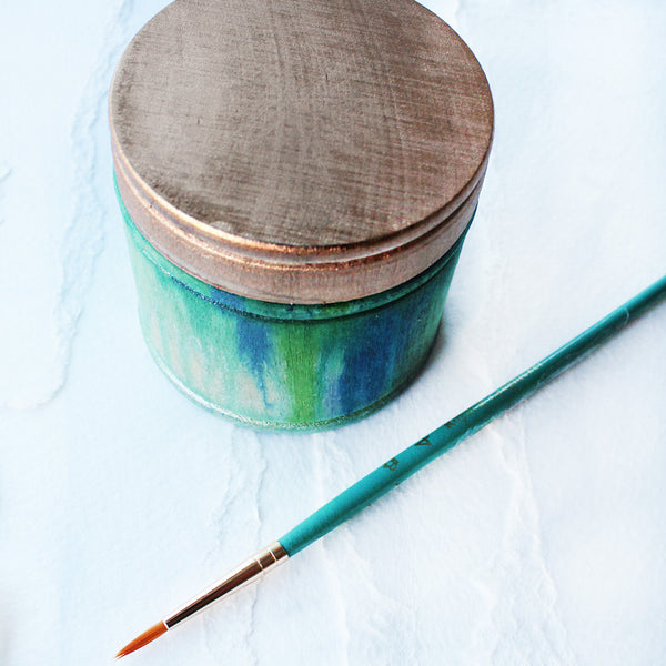 Watercolored-Wood-Trinket-Box