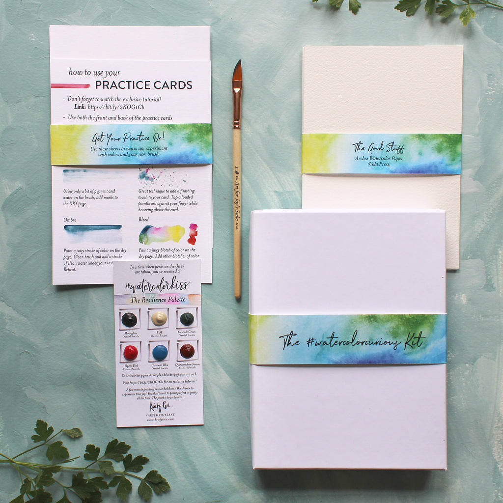 The #watercolorcurious Kit
