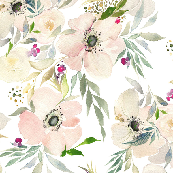 It's a Nice Day for a White Anenome - Fine Art Print